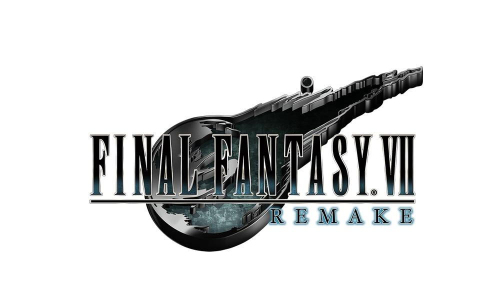 『FINAL FANTASY VII REMAKE』(ファイナルファンタジーVII リメイク)ロゴ