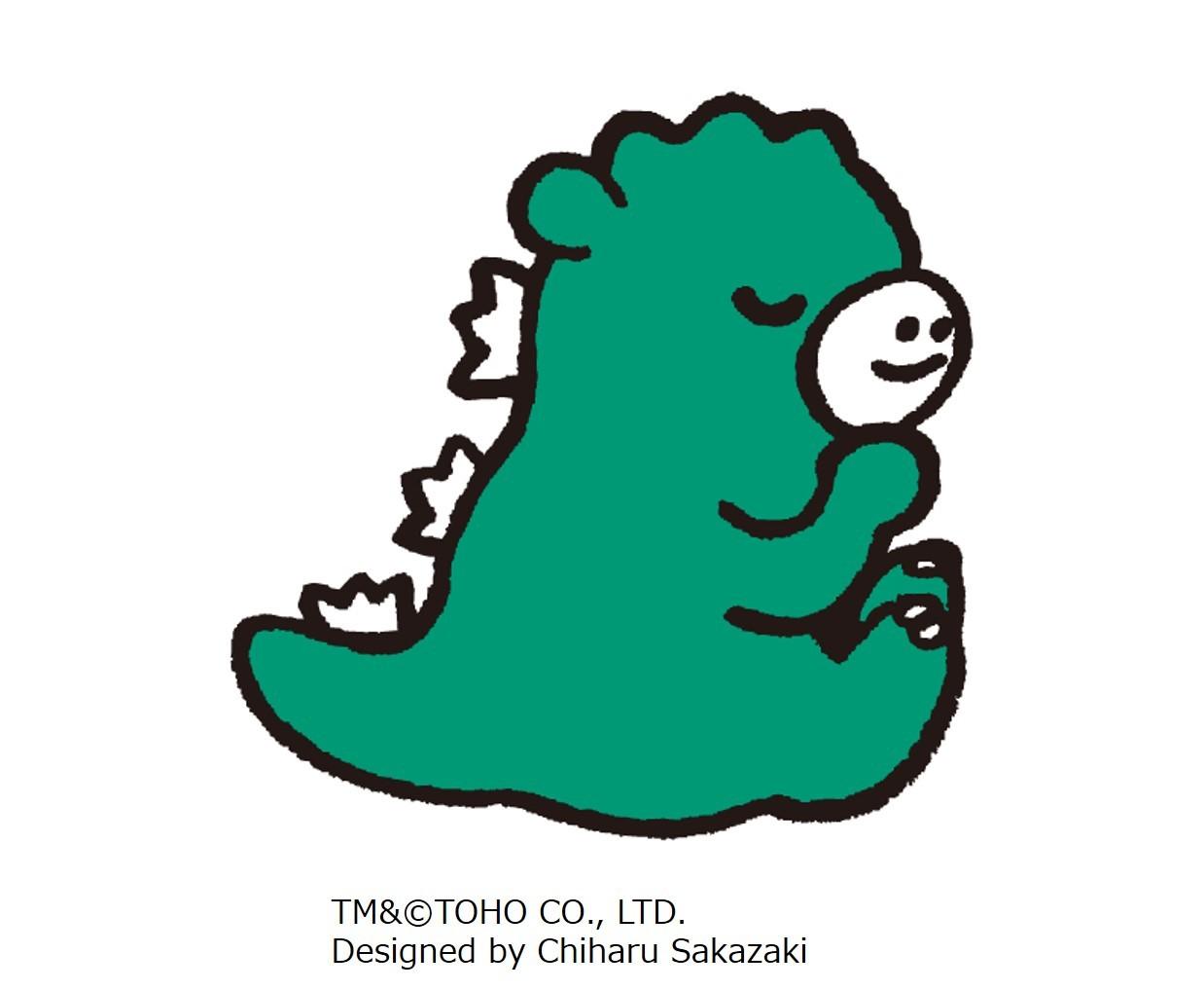TM&(C)TOHO CO., LTD. Designed by Chiharu Sakazaki