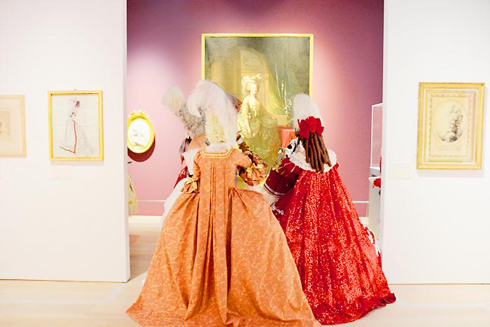 OZmall『マリー・アントワネット展』で仮装&貸切ナイト