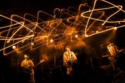 postman 初フルアルバム『HOPEFUL APPLE』レコ発ツアー 有観客+配信のTSUTAYA O-Crest公演をレポート