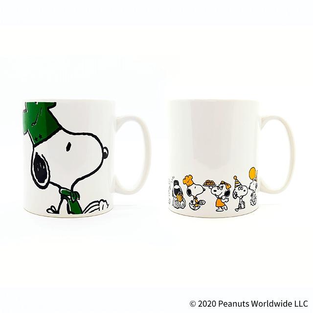 マグカップ(全2種) (C) 2020 Peanuts Worldwide LLC