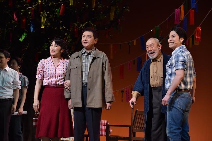 ミュージカル『アリージャンス〜忠誠〜』のゲネプロの様子