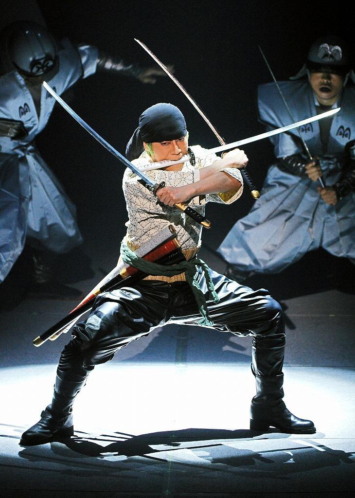 シネマ歌舞伎『スーパー歌舞伎Ⅱ ワンピース』ロロノア・ゾロ役=坂東巳之助