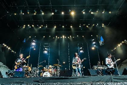 ストレイテナー『RUSH BALL 2021』ライブレポート ーー晴天の空の下、名曲を連発した『RUSH BALL』愛と決意のステージ
