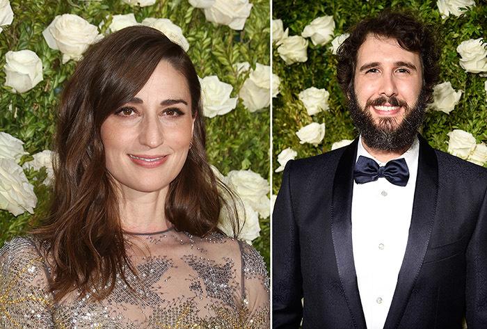 司会:サラ・バレリス、ジョシュ・グローバン(Getty Images)