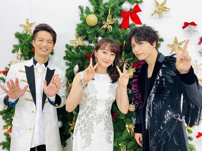 (左から)田代万里生・花總まり・山崎育三郎