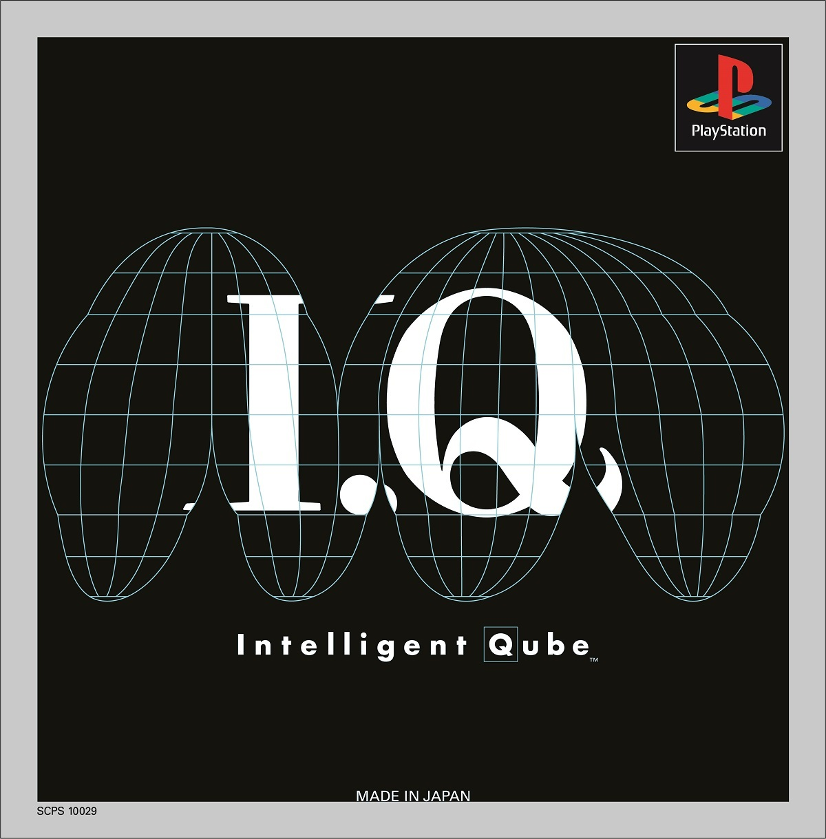 PlayStationゲーム「I.Q Intelligent Qube」 1997 ©Sony Computer Entertainment Inc.