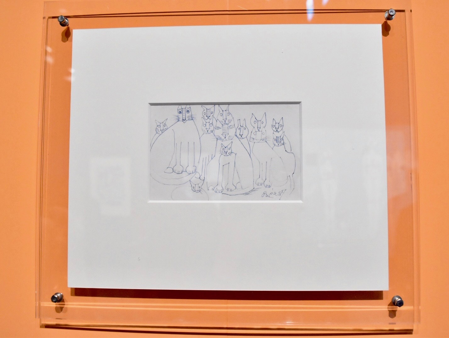 猪熊弦一郎 1987年 丸亀市猪熊弦一郎現代美術館