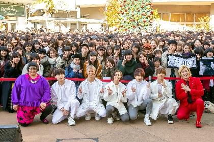Da-iCE・岩岡徹にメイプル超合金・安藤なつがプロポーズ!? Da-iCEシングル発売記念イベントレポート