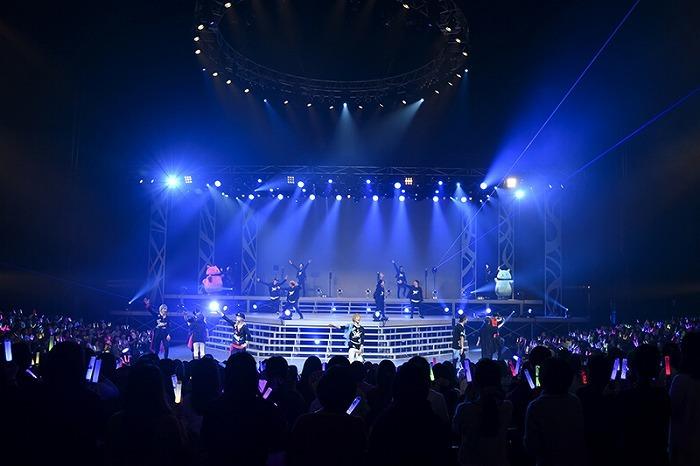 2.5次元ダンスライブ「SQ」ステージ BLAZING & FREEZING (C) S.Q.SBF