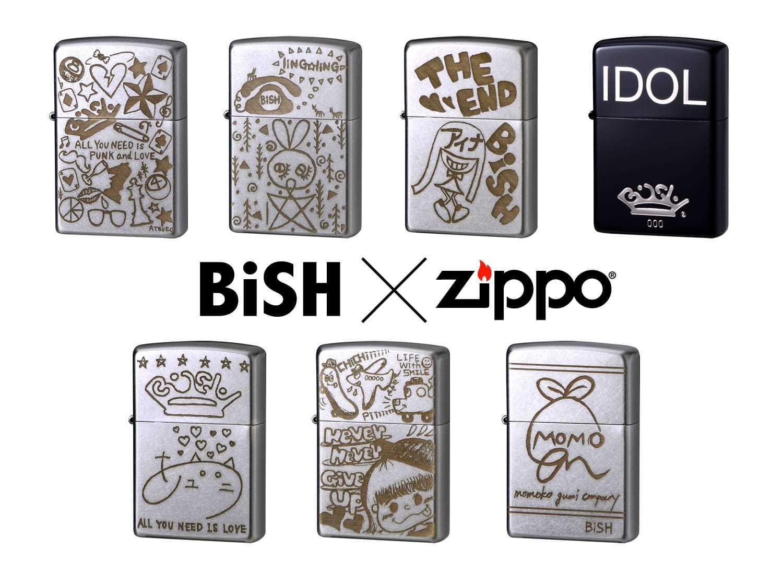 BiSH×Zippo