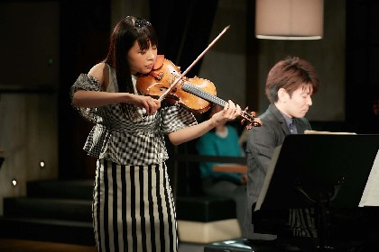 熱狂と興奮を巻き起こした、寺下真理子(ヴァイオリン)とSUGURU(ピアノ)の熱い共演!