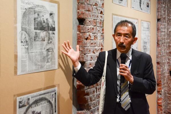 東京ステーションギャラリーの館長で本展の監修を務めた冨田章