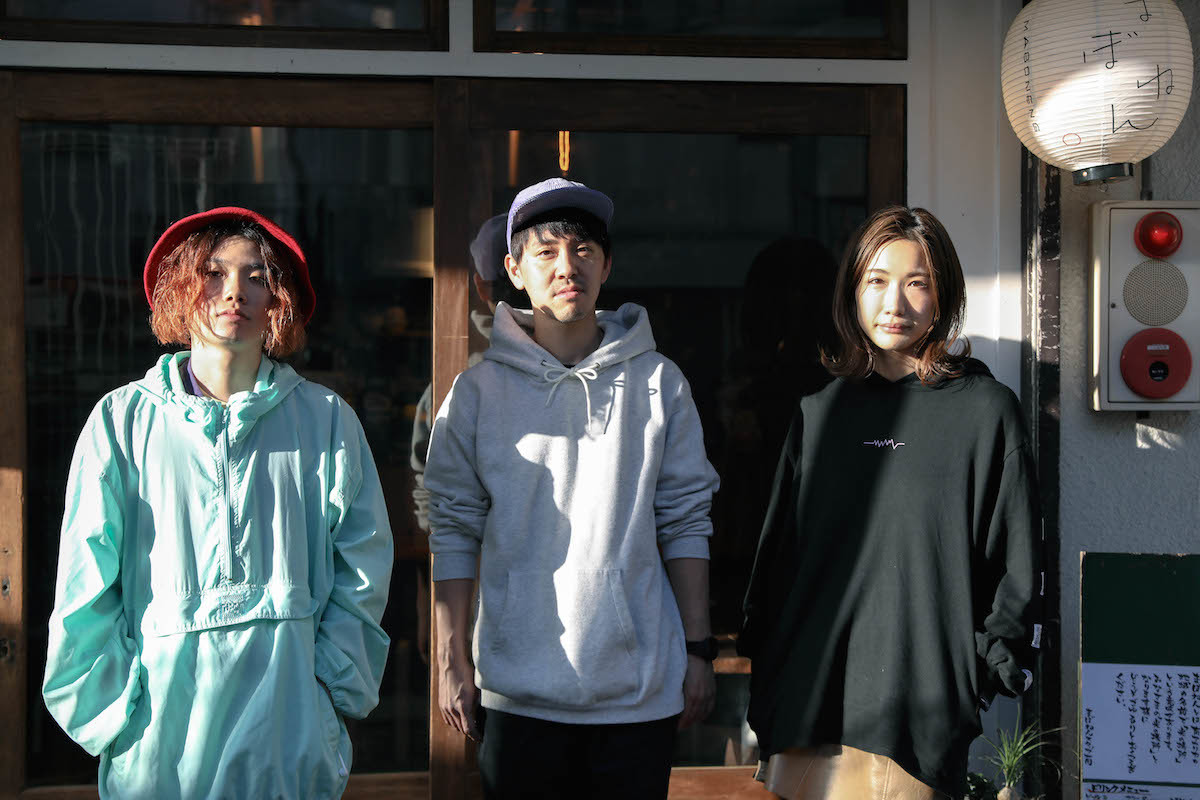 Tempalay・小原綾斗 / Sawagi・nico / tricot・中嶋イッキュウ 撮影=風間大洋