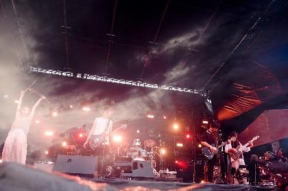 BIGMAMA『RUSH BALL 2020』ライブレポート ーー希望に満ちたサウンドを夕暮れに響かせた新生BIGMAMA