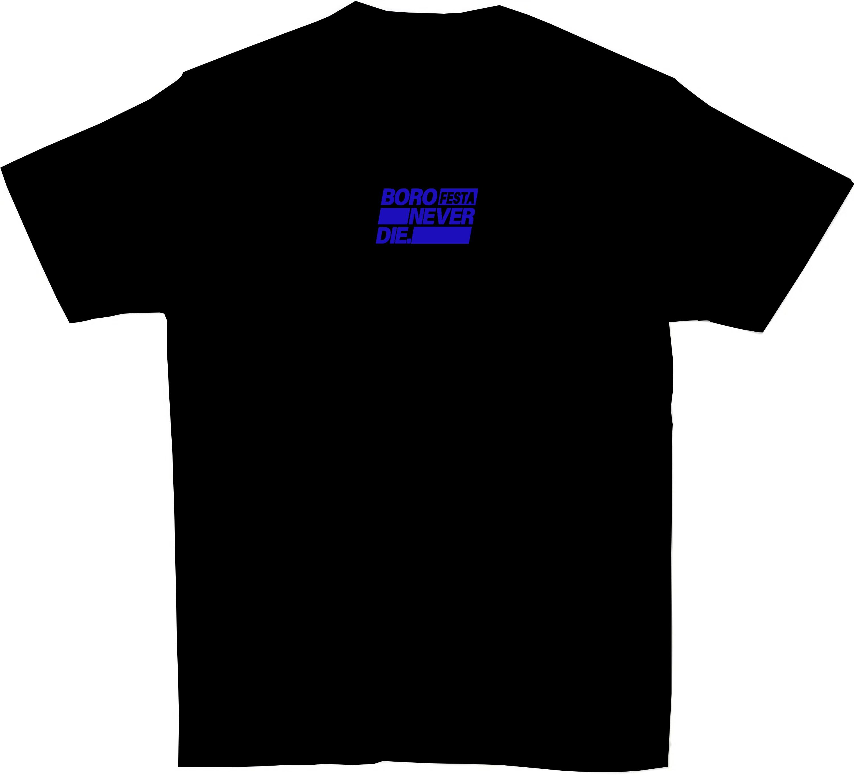 BOROFESTA NEVERDIE Tshirts_black
