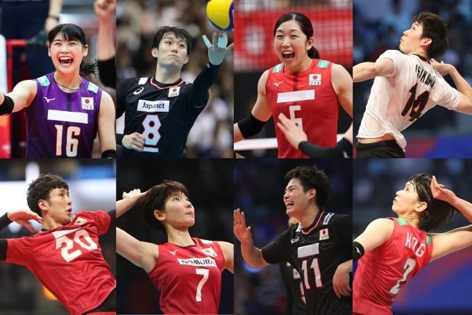 バレー男女日本代表が紅白戦を有料ライブ配信する JVA2020-07-022