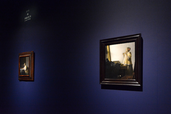 ヨハネス・フェルメール《真珠の首飾りの女》1662-1665年頃 ベルリン国立美術館