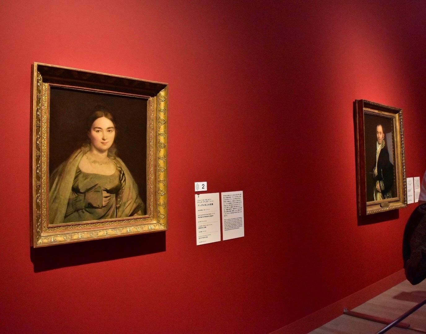 ジャン=オーギュスト=ドミニク・アングル 《アングル夫人の肖像》 1814年頃