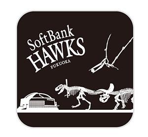 ホークスと恐竜のコラボグッズも販売