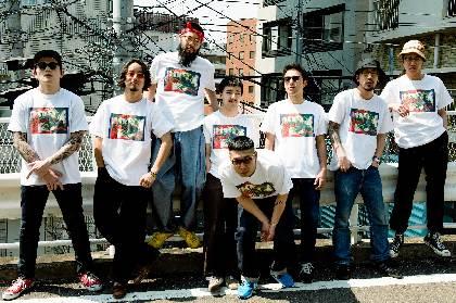 SANABAGUN.×BEAMS T、新曲とTシャツがセットになったコラボアイテム発売決定 高岩遼と岩間俊樹が数時間限定で販売スタッフに
