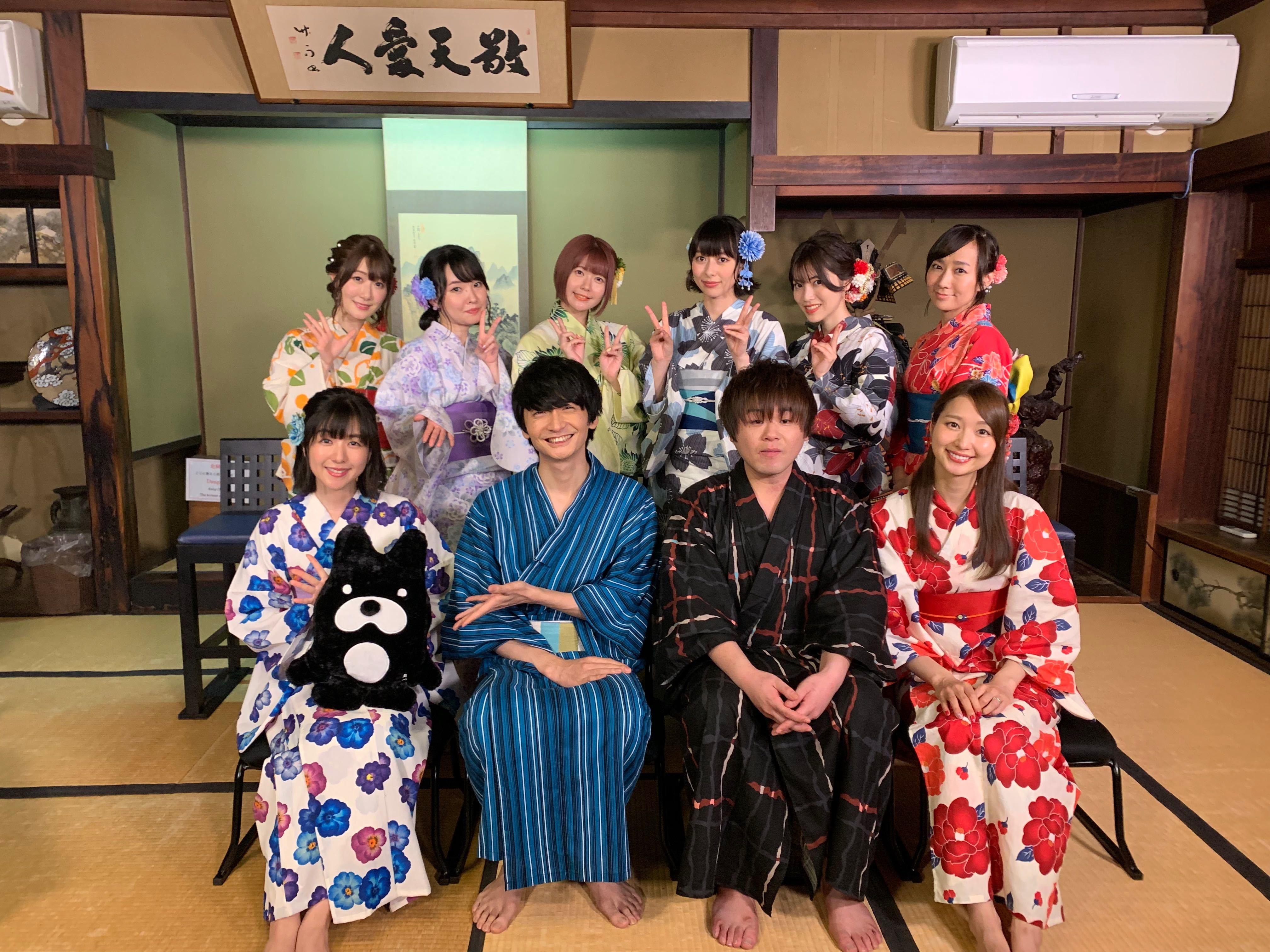 AbemaTV『ソードアート・オンライン 10周年記念特番』出演キャスト (C)AbemaTV