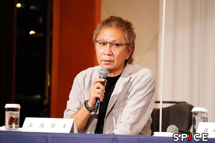 三池崇史  オフィシャル撮影:田中亜紀