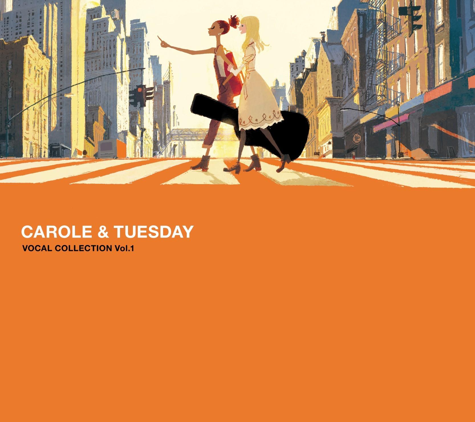 『TVアニメ「キャロル&チューズデイ」VOCAL COLLECTION Vol.1』ジャケット (c)ボンズ・渡辺信一郎/キャロル&チューズデイ製作委員会
