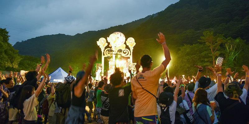 写真は『FUJI ROCK FESTIVAL』オフィシャルサイトより