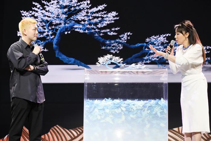 美術作家 小野川直樹と女優 浅野ゆう子によるトーク