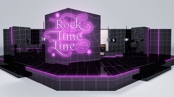 「Rock Time Line」展開イメージ。