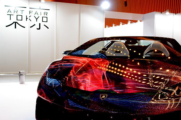 アートフェア東京2017│ランボルギーニのアートカー
