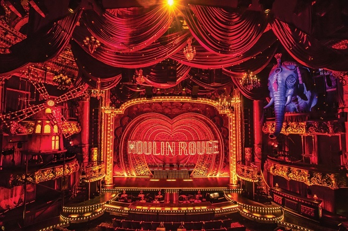 Moulin Rouge! The Musical, photo by Matthew Murphy