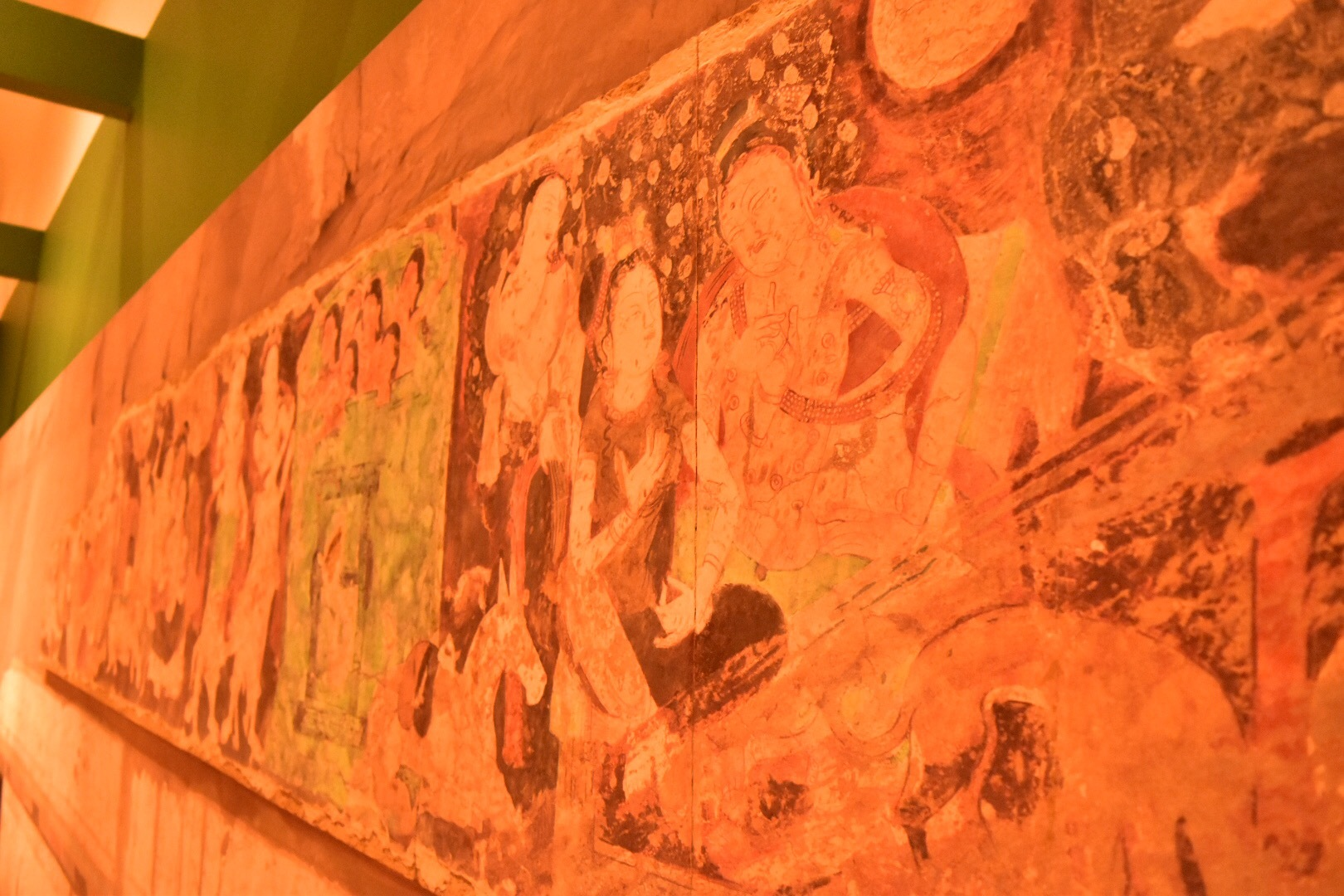 クローン文化財 キジル石窟 第212窟(部分) 6世紀