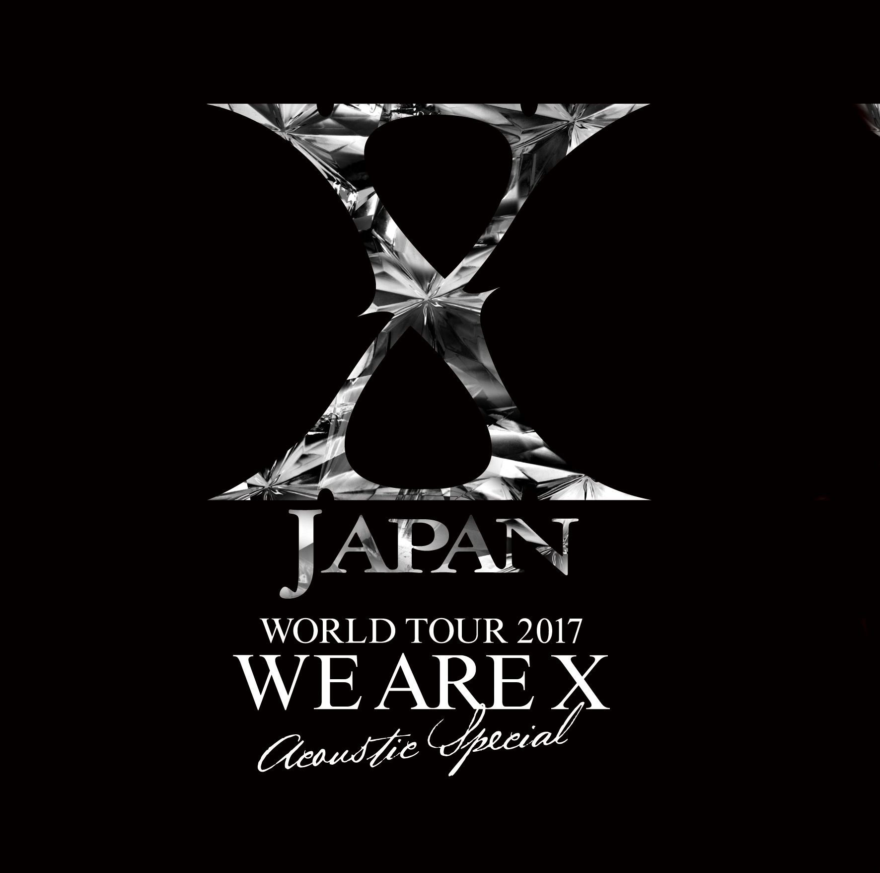 X JAPANツアーロゴ