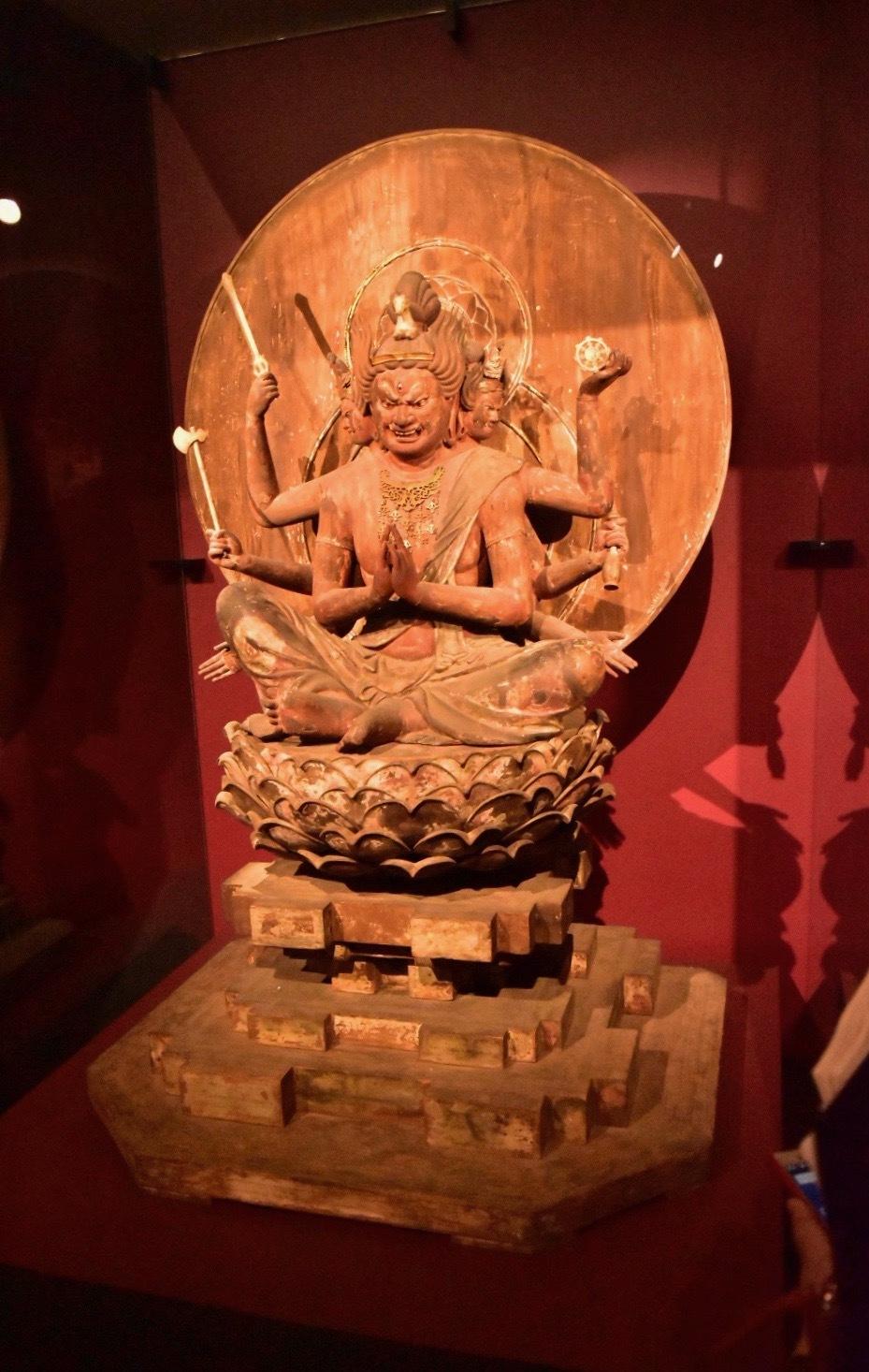 重要文化財 馬頭観音菩薩坐像 鎌倉時代 13世紀 福井・中山寺