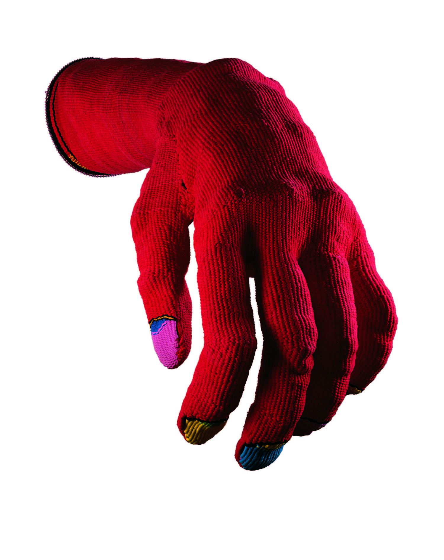 小名木陽一《赤い手ぶくろ》1976年 東京国立近代美術館蔵