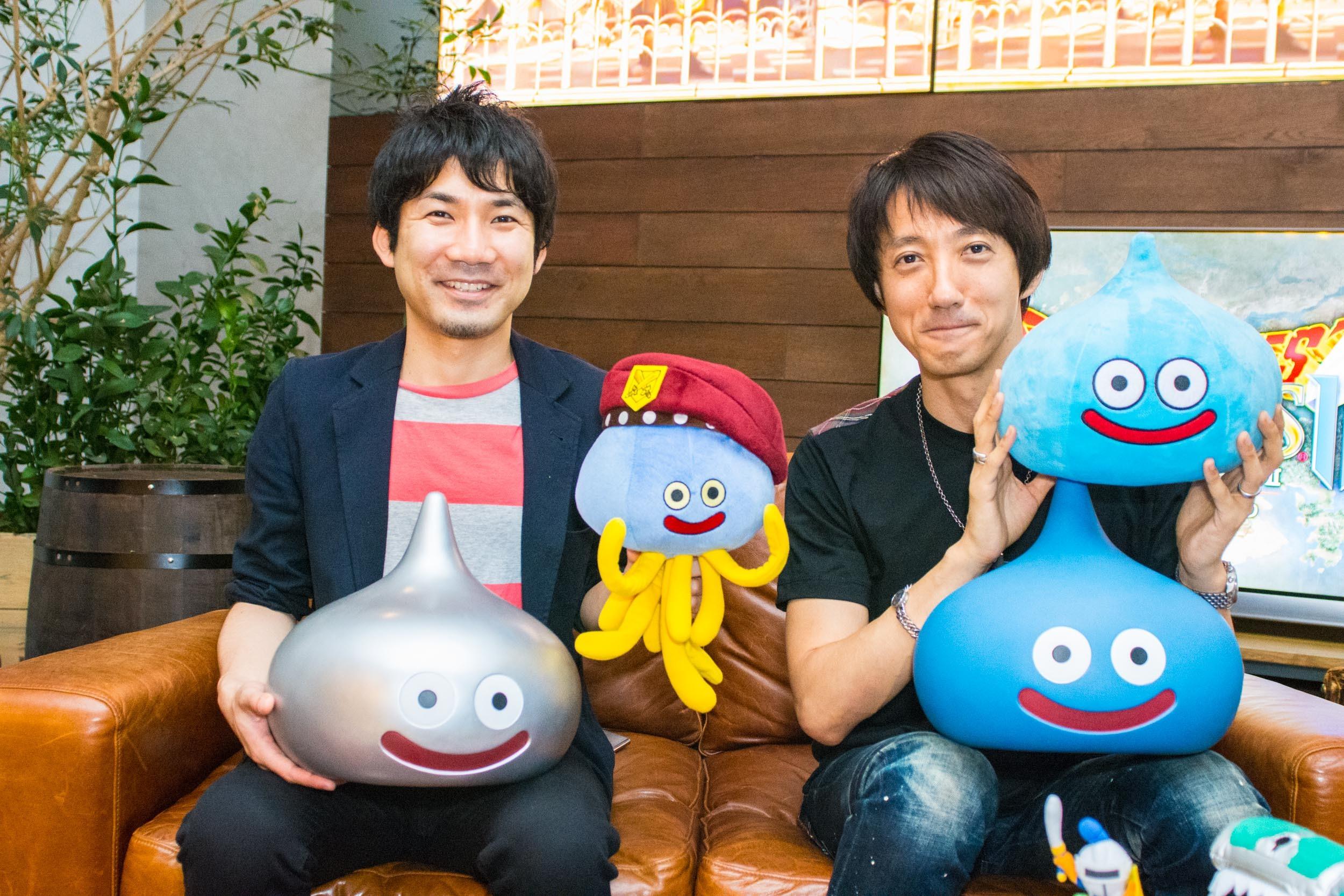 (左から)青海プロデューサー、庄ディレクター