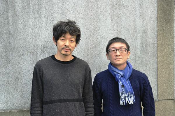 (左から)山中崇、林慎一郎 撮影:吉永美和子(このページすべて)