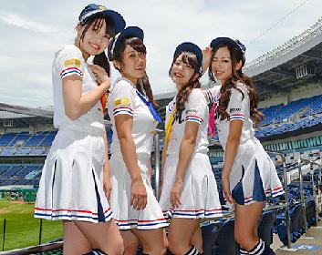 千葉ロッテ公認の売り子アイドル「マリーンズ カンパイガールズ」、握手会&ミニライブを開催