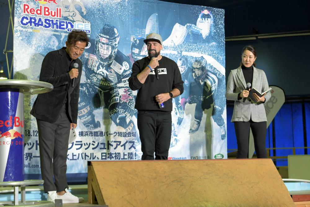 大会スポーツディレクターのクリスチャン・パピヨン(カナダ)。50回記念大会という節目を日本で開催できることは大きな歴史の一歩になると語った