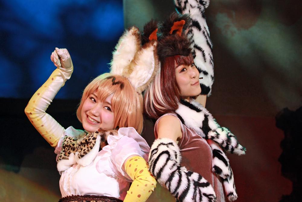写真:今回はサーバル(尾崎由香)とオカピ(野本ほたる)が中心となってストーリーが進む。
