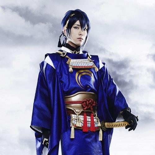 三日月宗近役、黒羽麻璃男 ©ミュージカル『刀剣乱舞』製作委員会