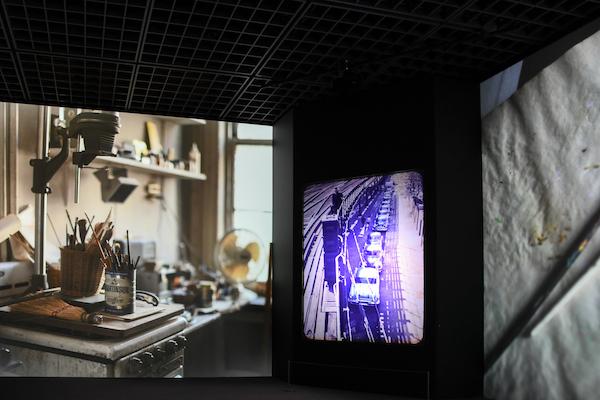 デジタル展示:ソール・ライターのスライドプロジェクション