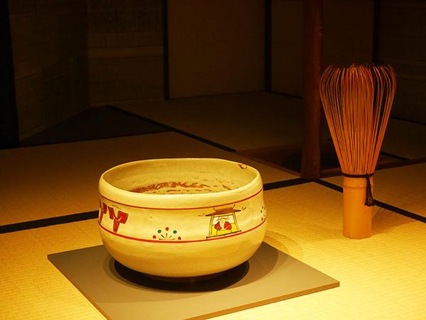 西大寺の「大茶盛式」で使われる大茶碗