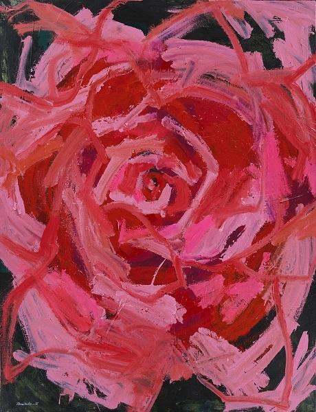 《ROSE》2019年 (C) NORITAKE KINASHI(size 150cm×115cm)