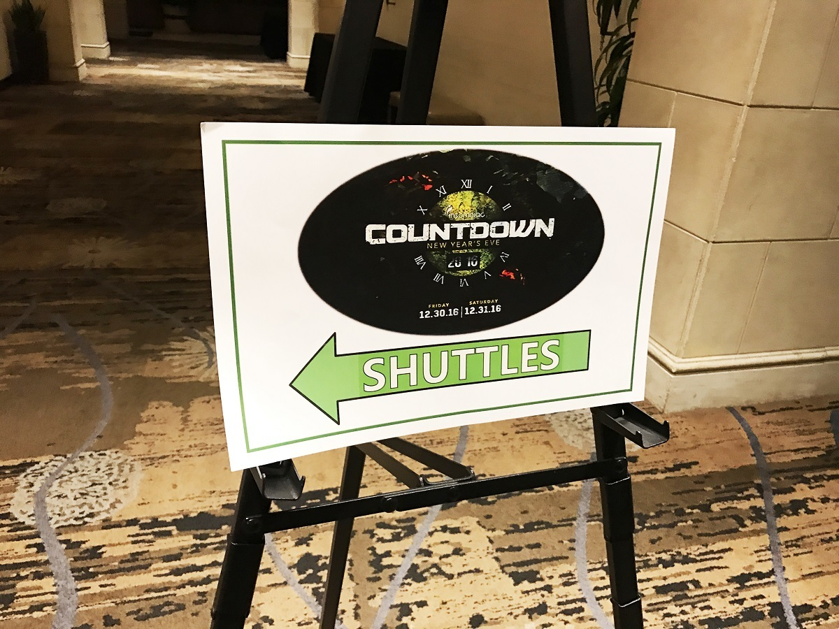 COUNTDOWN NEW YEARS EVENT