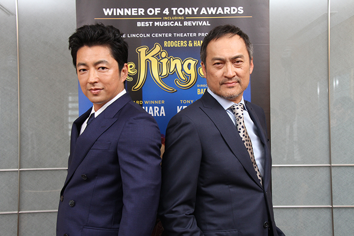 (左から)大沢たかお、渡辺謙 (c) Yasuko Arakawa