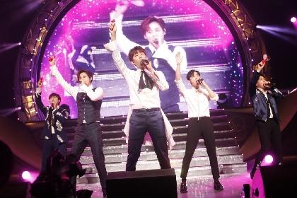 B1A4 日本ツアー最終日にまさかのサプライズで涙、青山テルマとのパフォーマンスも
