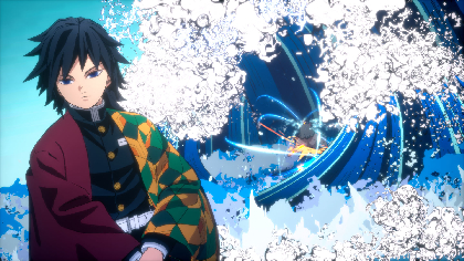 ゲーム『鬼滅の刃 ヒノカミ血風譚』バーサスモードに冨岡義勇が参戦 バトルアクション映像が公開